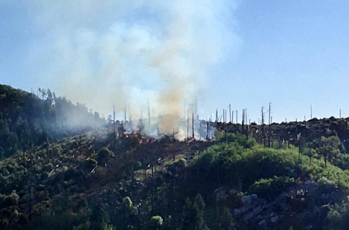 Fire near Summerhaven
