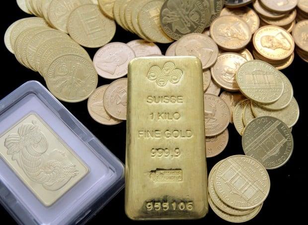 Gold coins legal tender