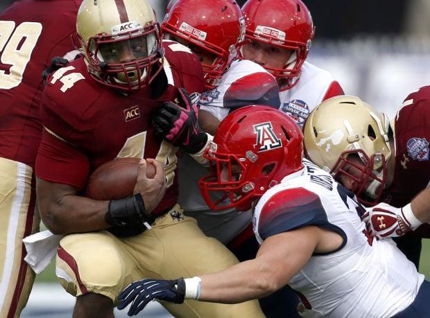 University of Arizona vs Boston College AdvoCare V100 Bowl