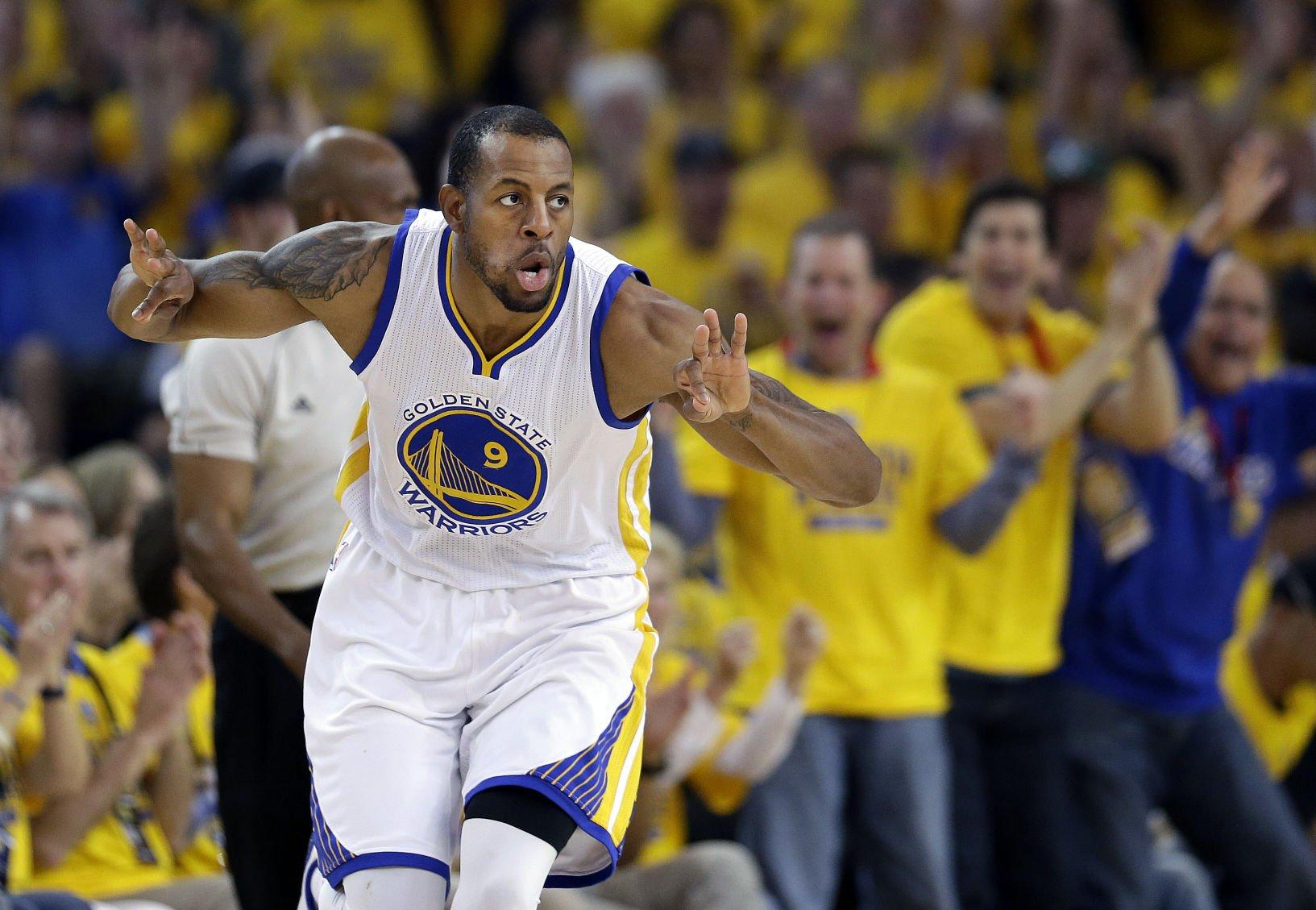 Golden State Warriors plan to retire Andre Iguodala's jersey ...