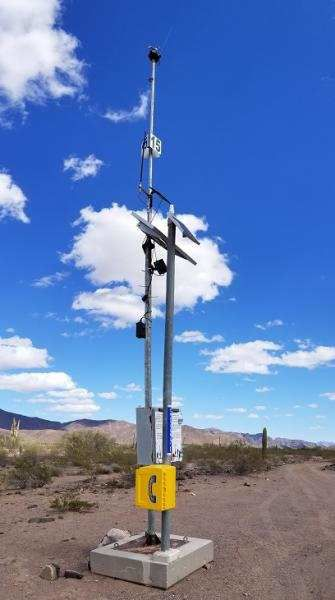 Border Patrol Emergency Response Beacon