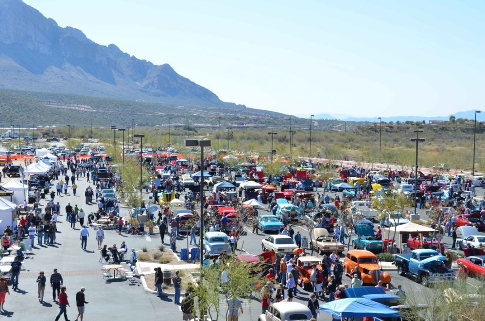 Cruise, BBQ and Blues Festival and Car Show