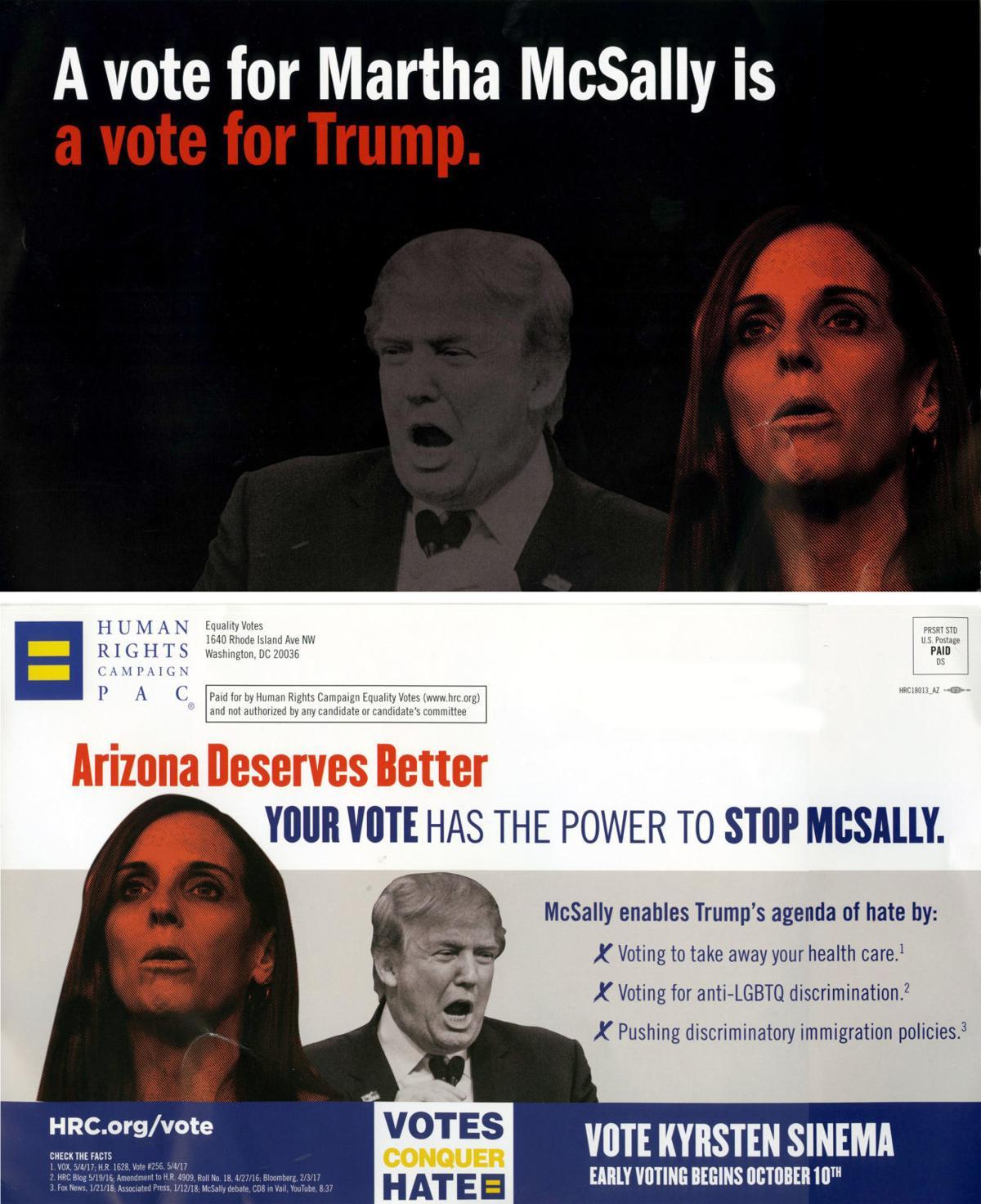 Anti-Martha McSally campaign flier