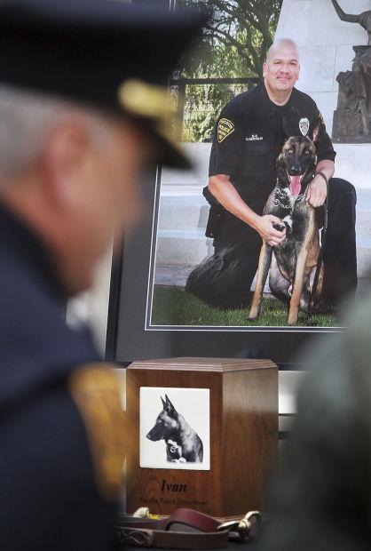 200 honor slain K-9 officer Ivan