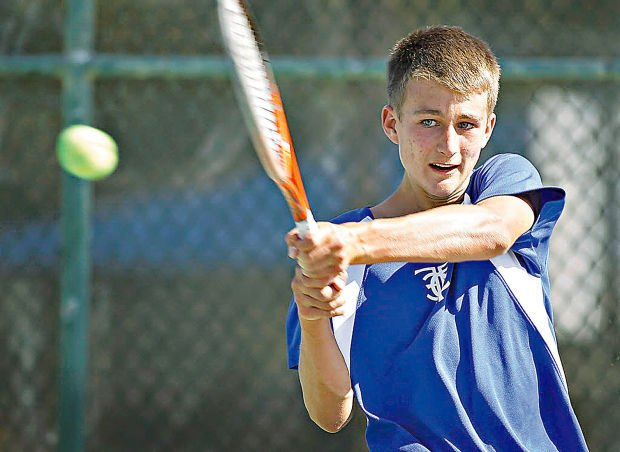 HIgh school state tennis: Falcons' Lee survives epic match