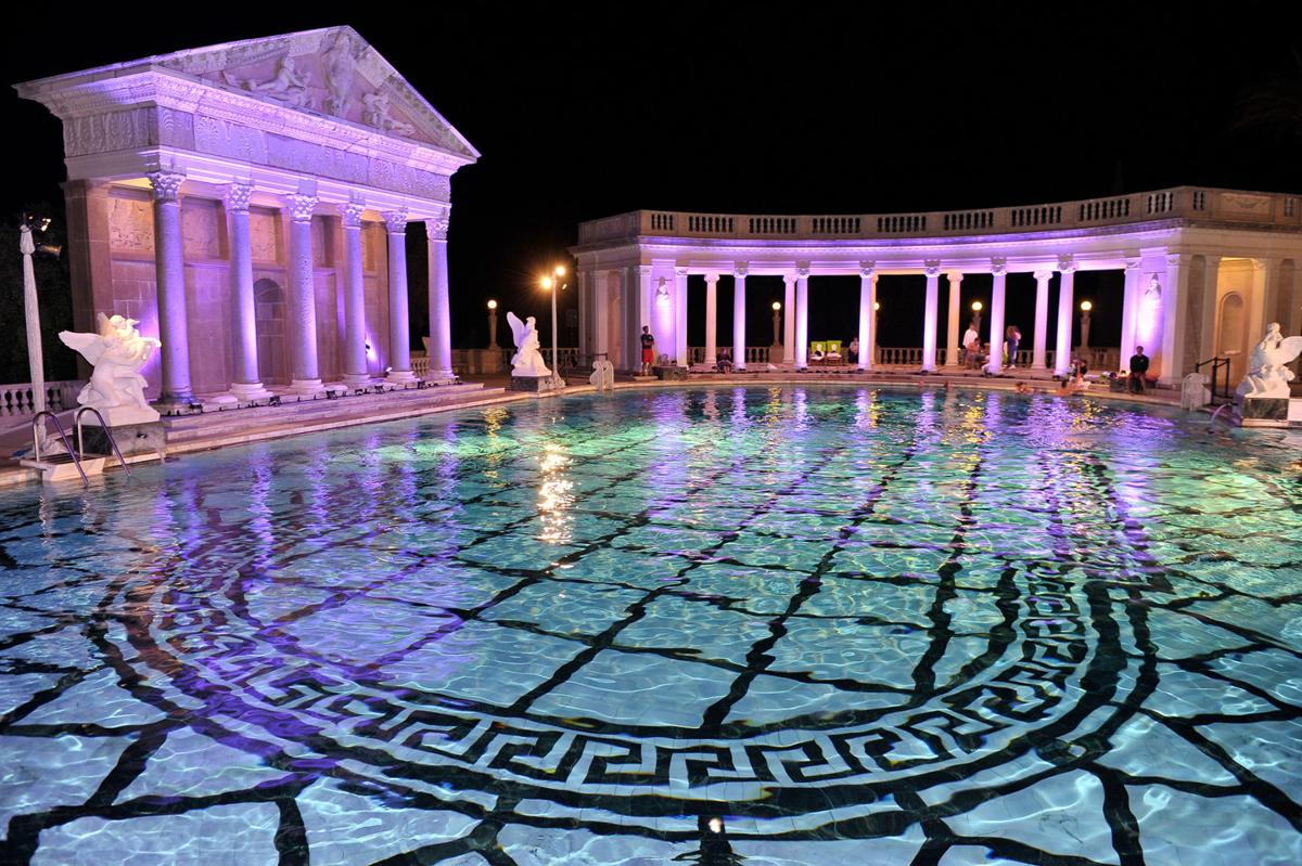 A general view of atmosphere at the Hearst Castle Neptune Pool Reception at Hearst Castle on Sept. 7, 2013 in San Simeon, Calif.