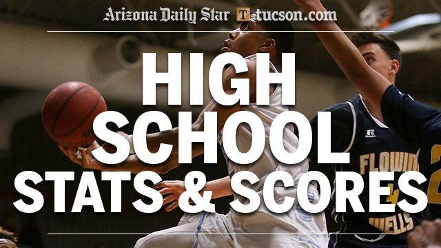 High school stats logo — boys basketball