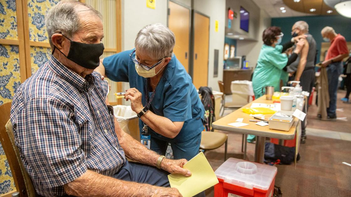 People ages 65-69 can soon sign up for Pima County vaccination sites - Arizona Daily Star
