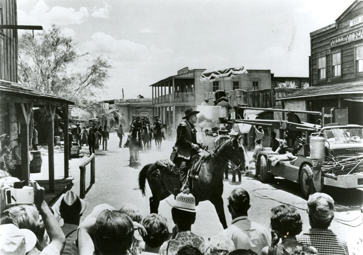 Moviemaking at Old Tucson