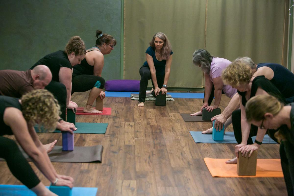Peaceful Pelvic Therapuetic Yoga Class