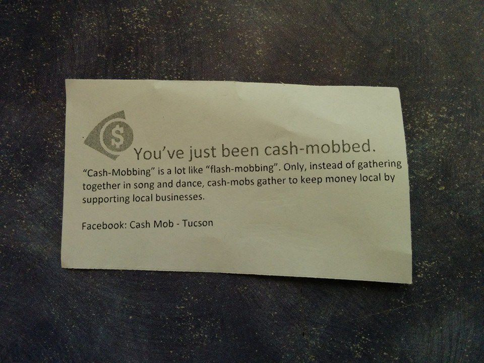 Cash Mob Tucson