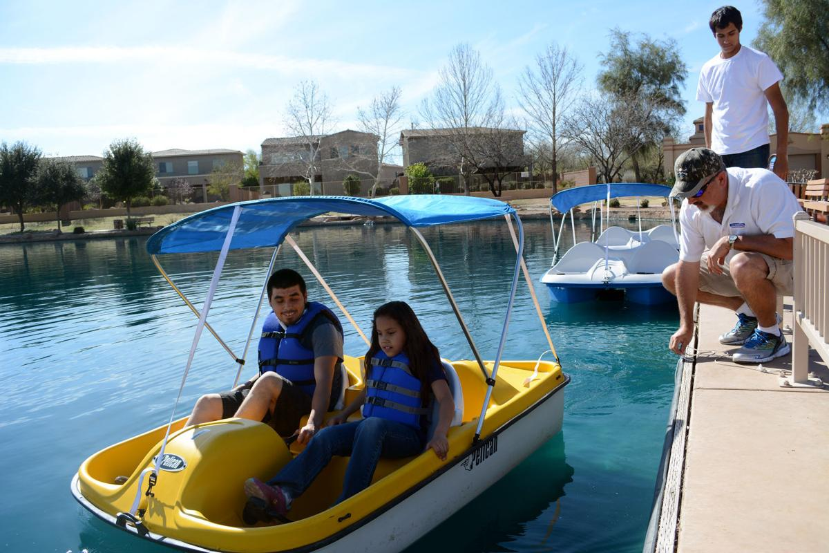 pedal boats kayaks now for rent at sahuarita lake news. Black Bedroom Furniture Sets. Home Design Ideas