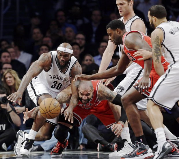 NBA Playoffs: Bulls 90, Nets 82, series tied at 1: Passionate Chicago plays tough defense to get even