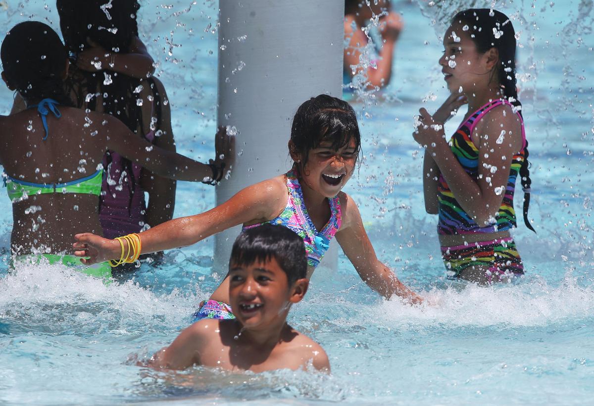 Pima County pools open (LE)