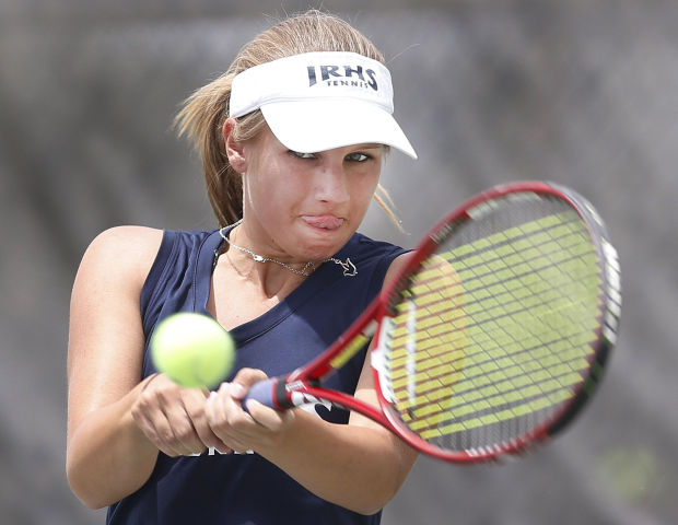 Division II girls playoff tennis