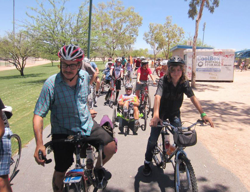 Hot bike ride will help BICAS | Local news | tucson com