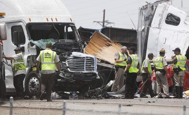 Fatal I-10 crash near Marana