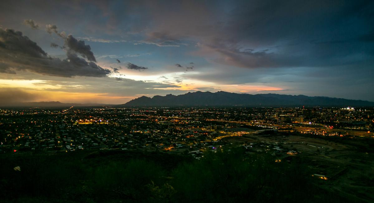 Clouds over Tucson