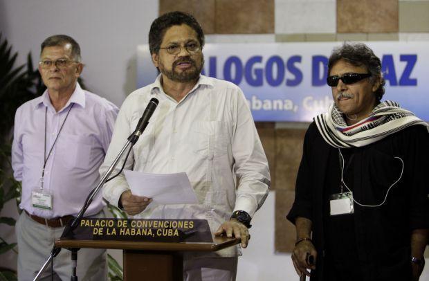 Ivan Marquez, Jesus Santrich, Ricardo Tellez