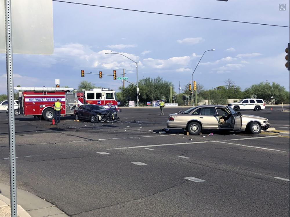 Crash on northwest side