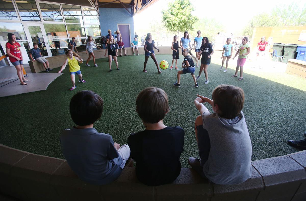 Civano Community School K-8 recess