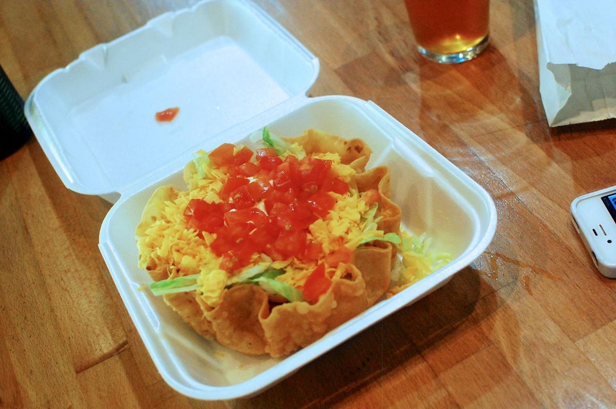 Taco salad from El Gorrion