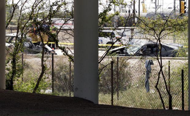 One dead in fiery Tucson wreck