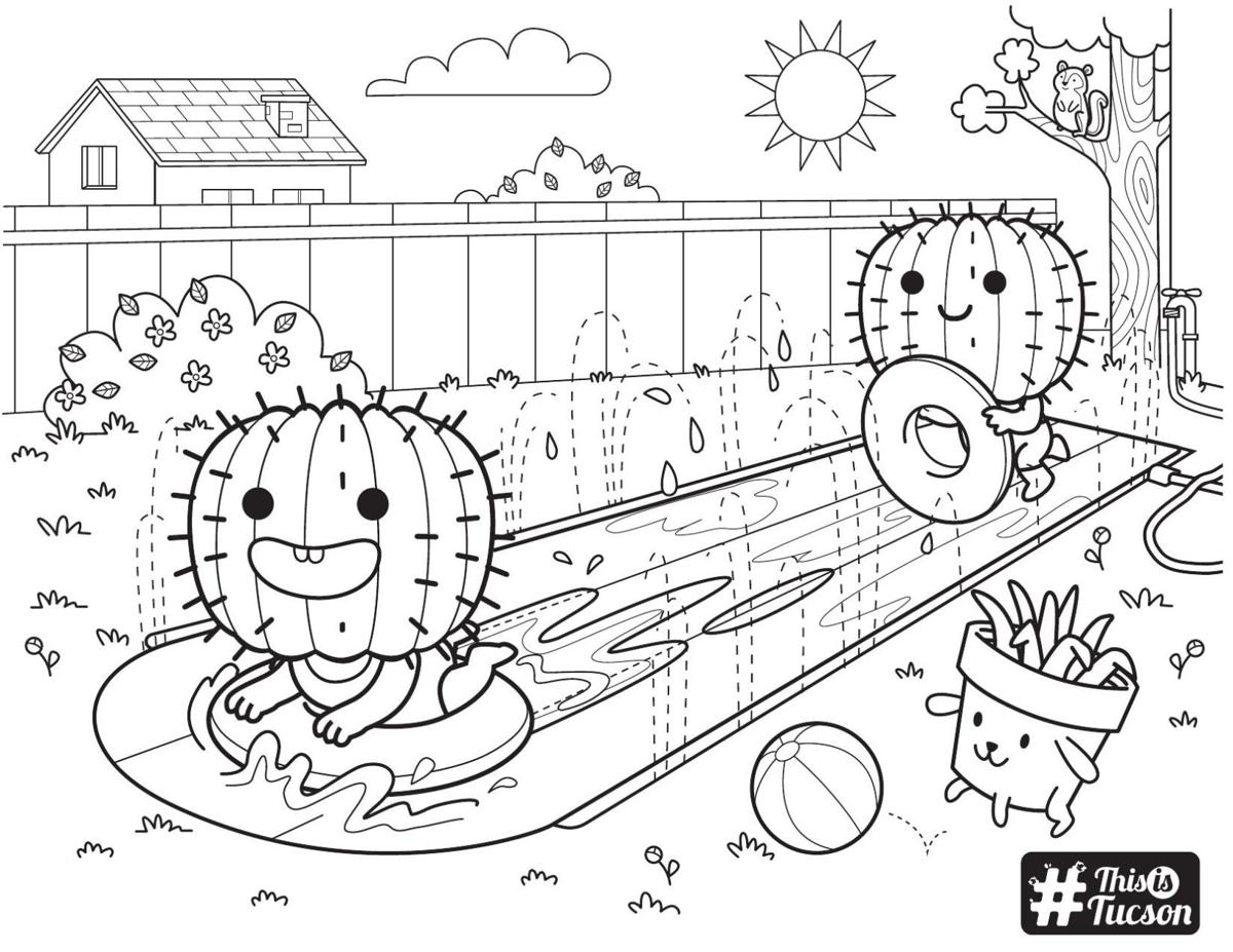 Summer 2021 coloring page