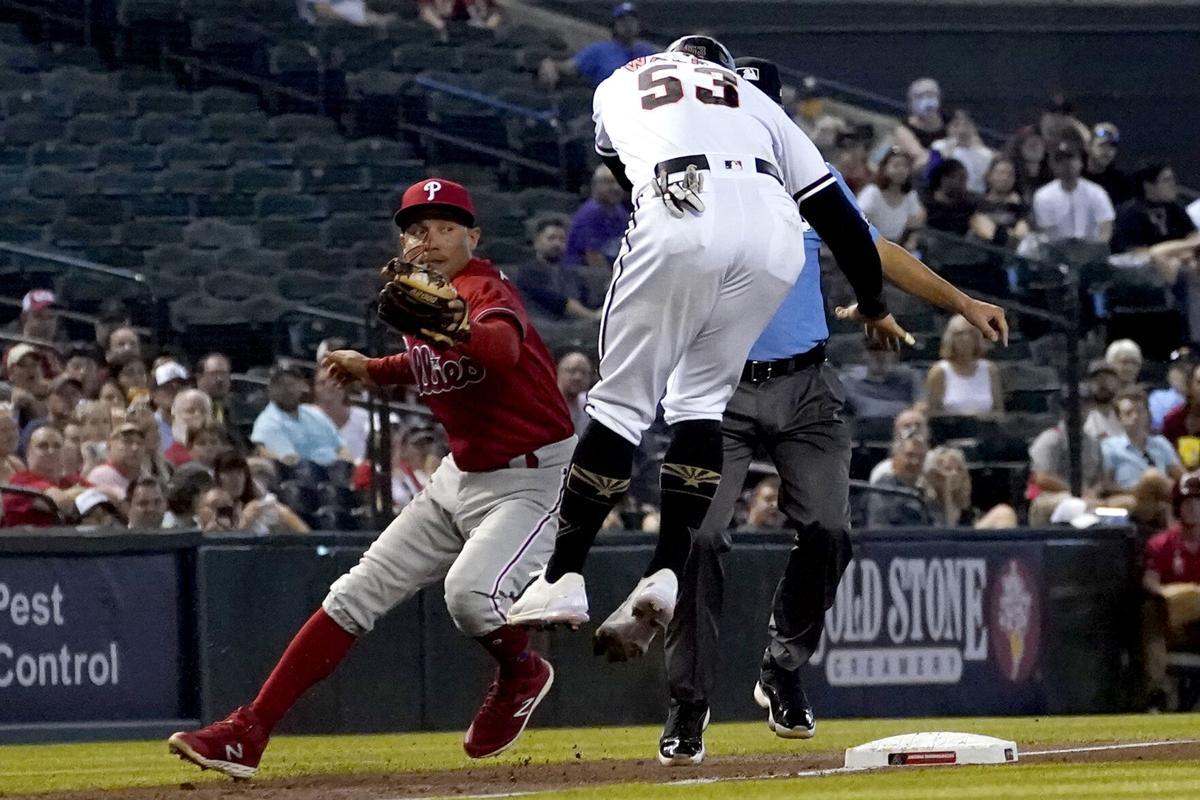 Phillies Diamondbacks Baseball