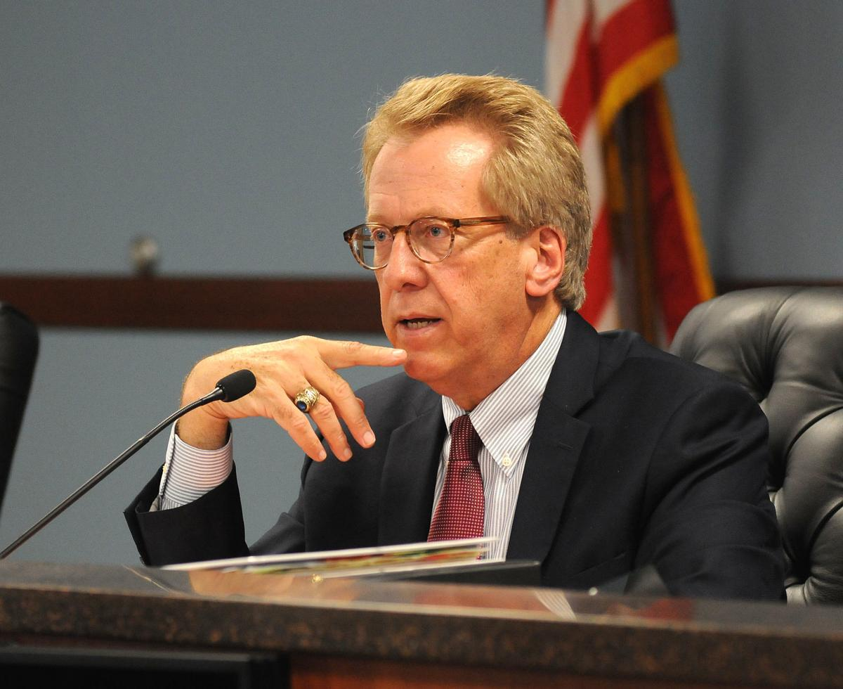State utility regulator Boyd Dunn