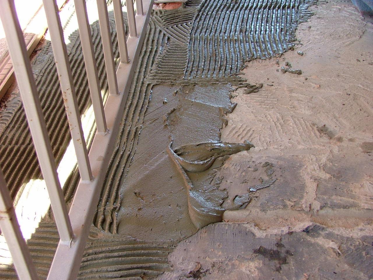 How Do I Lay Tile Over A Bumpy Concrete Floor?