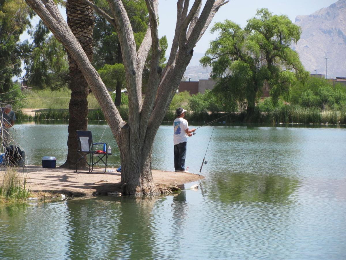 Fishing at Silverbell Lake