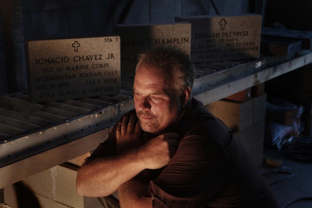 Since towers fell, it's been a blur of names for headstone engraver