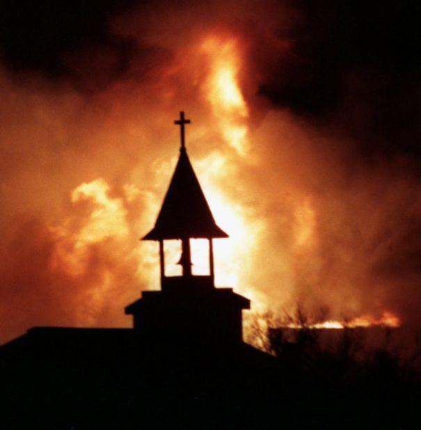 Old Tucson Studios fire