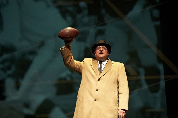 Like legend himself, 'Lombardi' makes much out of little