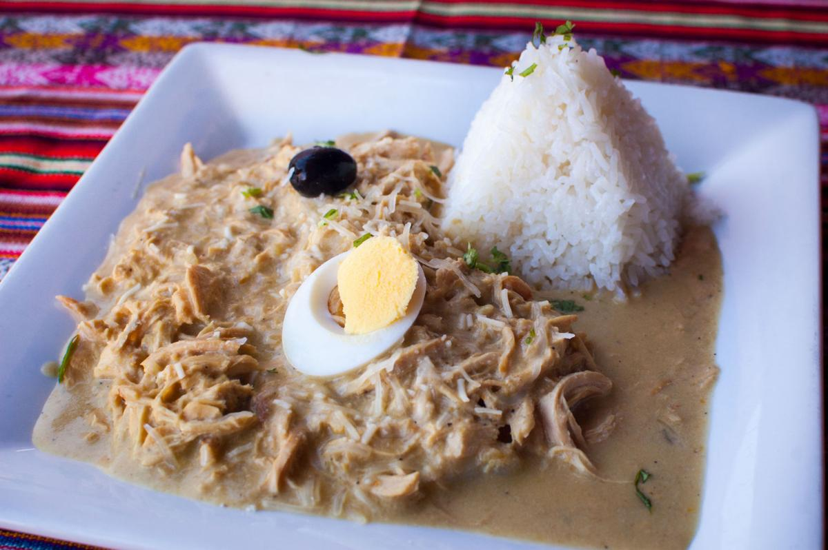 Inca's aji de gallina