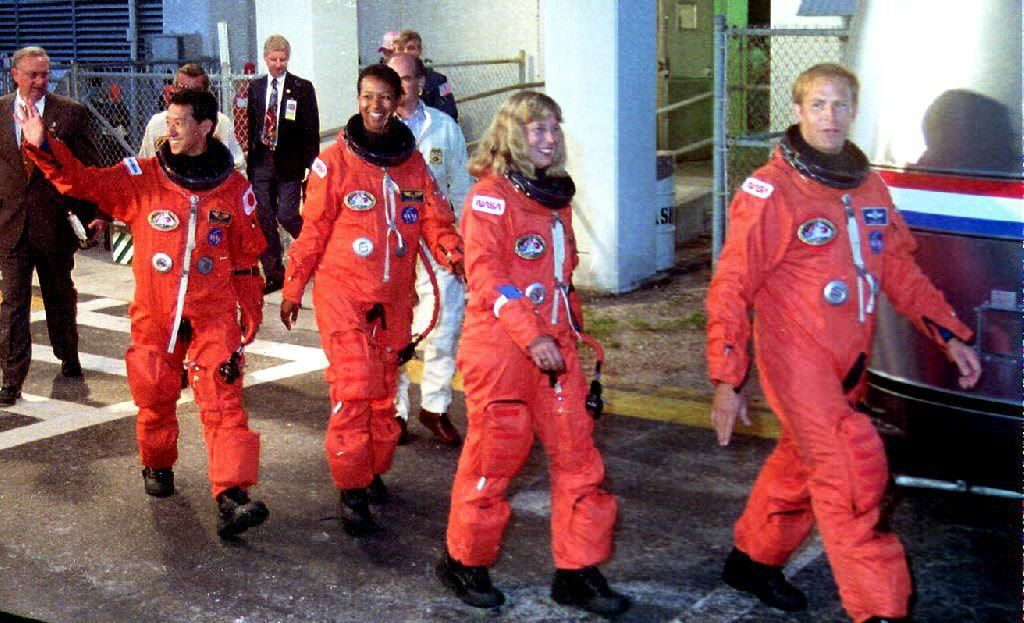 1992: First black woman in space