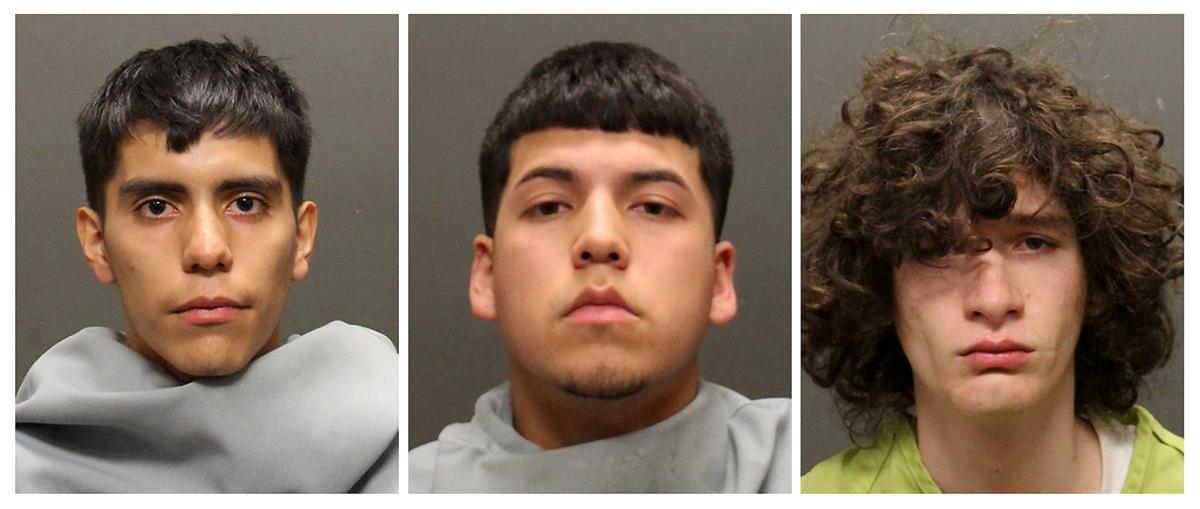 3 murder suspects