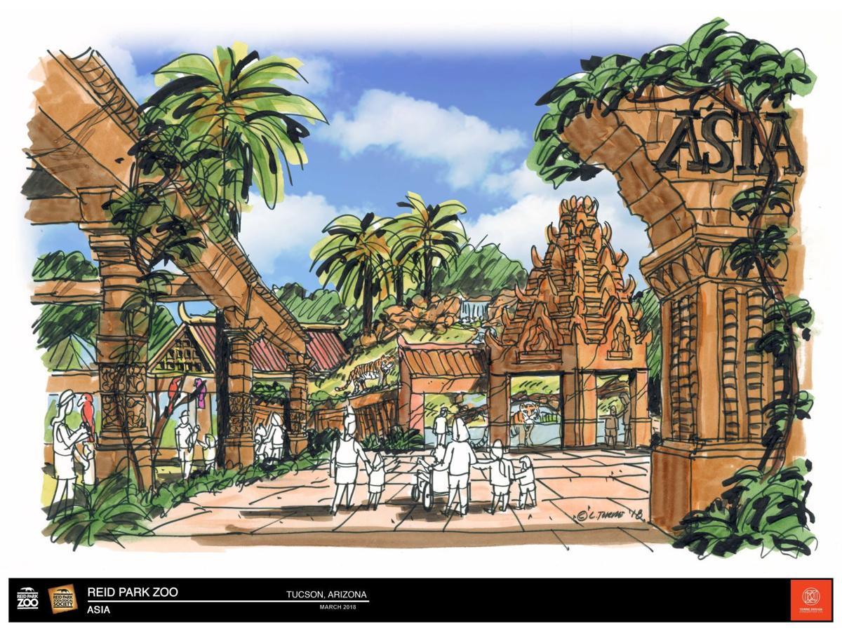Reid Park Zoo Asia expansion