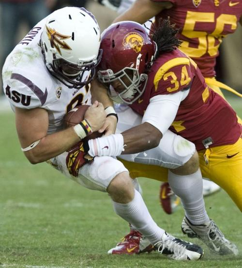 Arizona State football: Tight end Coyle catches on with ASU