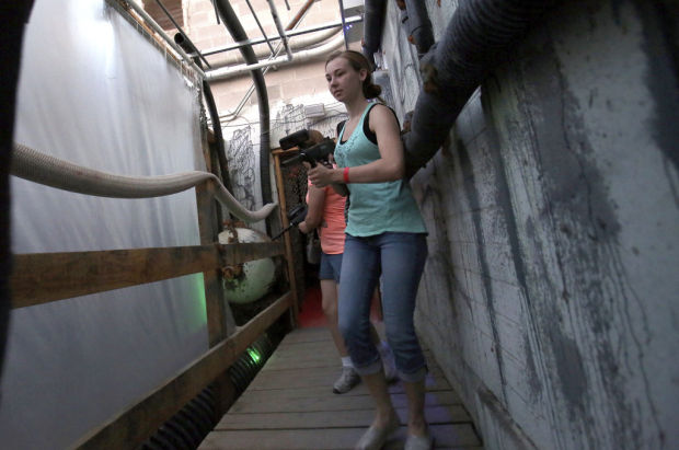 Hunt, 'kill' hordes of zombies at Tucson's Slaughterhouse