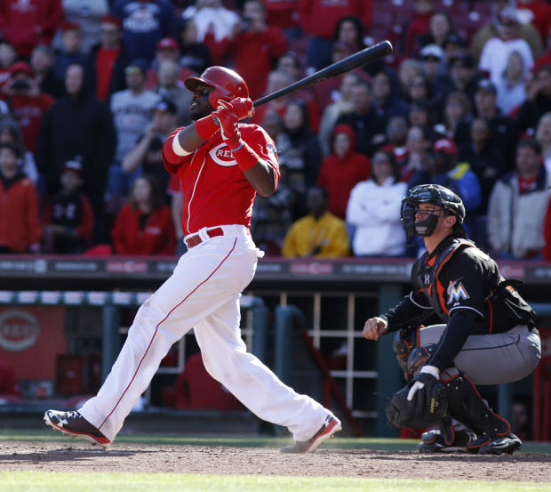 Reds 3, Marlins 2, 13 innings: Phillips makes good on his bobblehead day