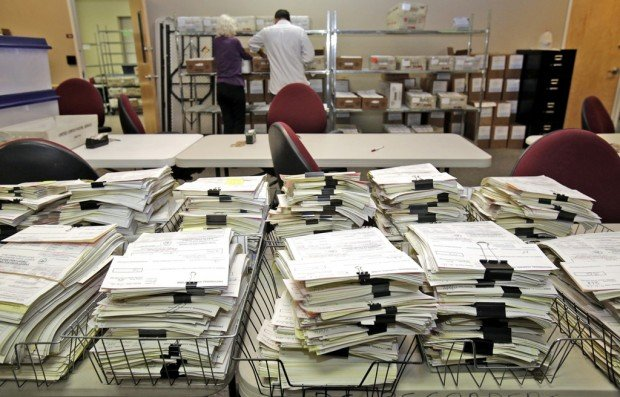 Delayed count due to ballotless 'early' voters at polls