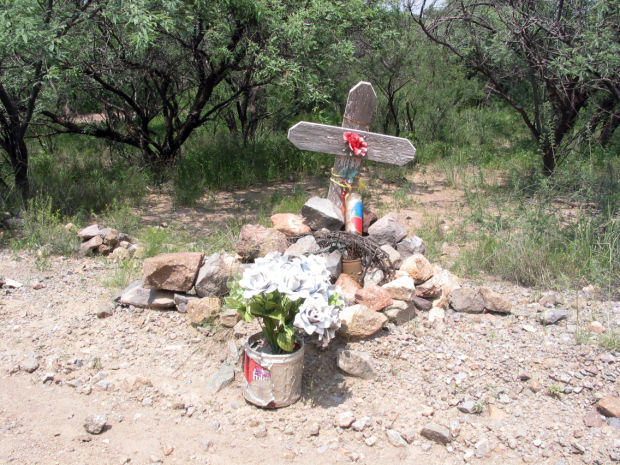Big Jim: Roadside crosses and other markers