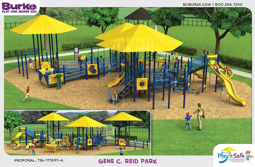 Playground rendering