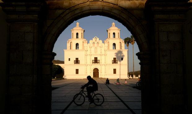 Caborca church