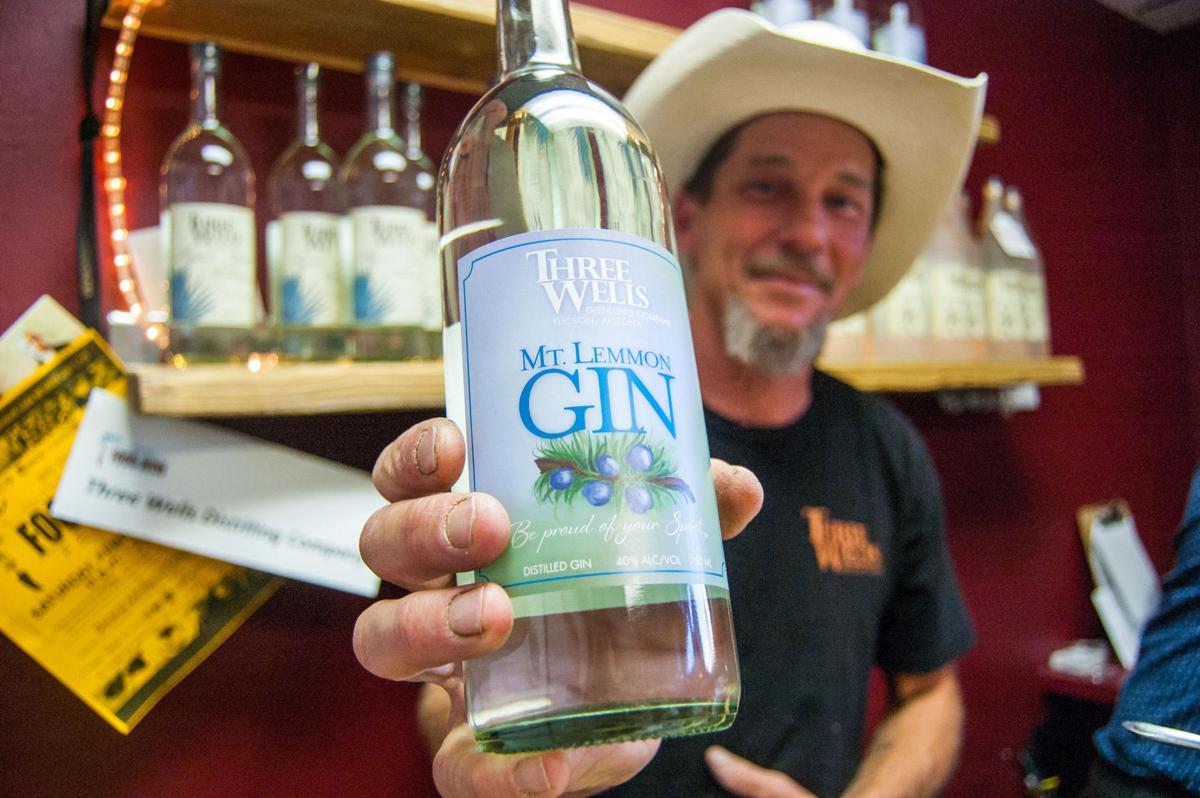 Three Wells gin