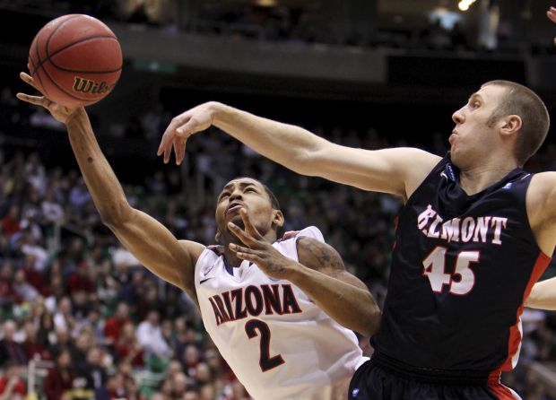 NCAA tournament West region: No. 6 Arizona 81, No. 11 Belmont 64: Something to prove