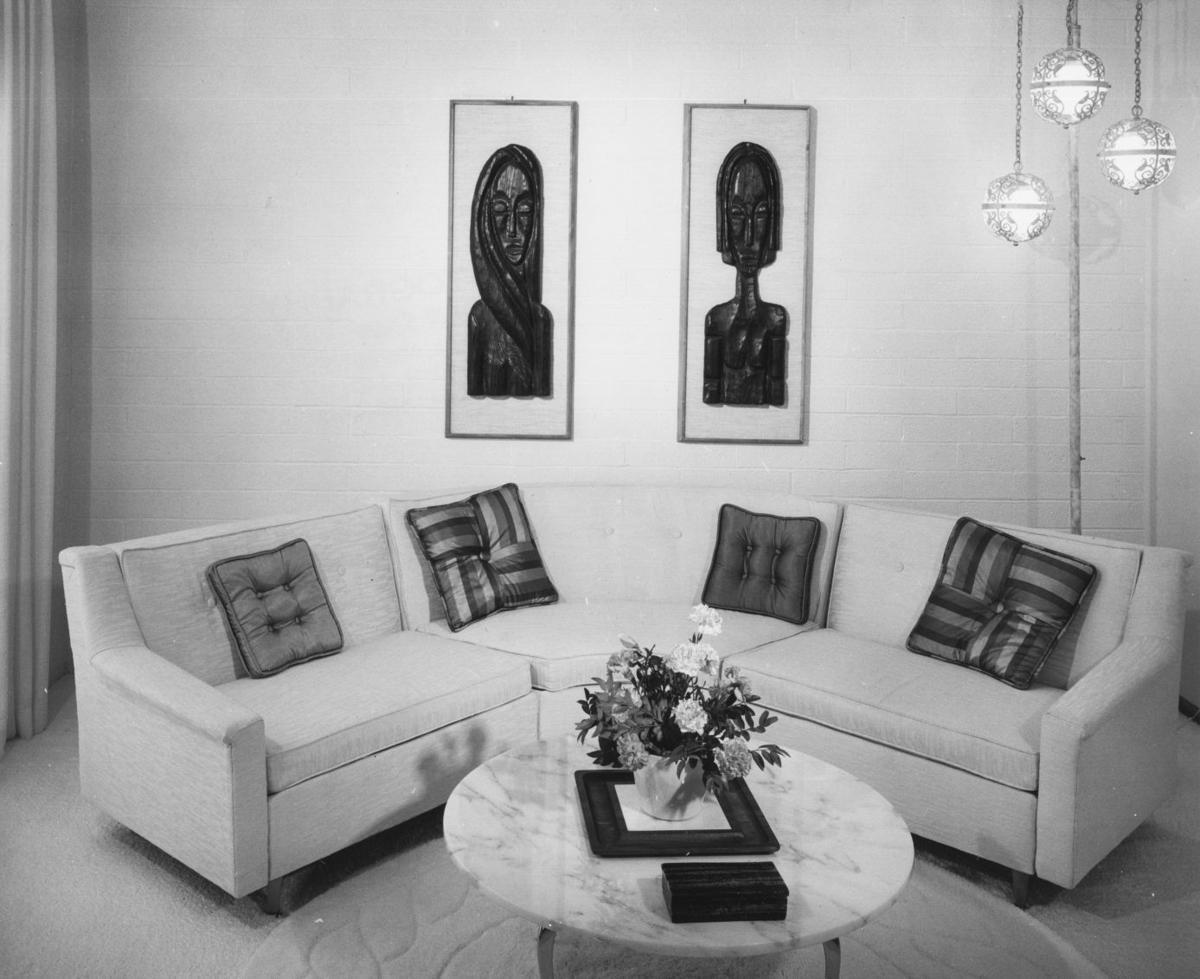 Career girls' homes in 1961