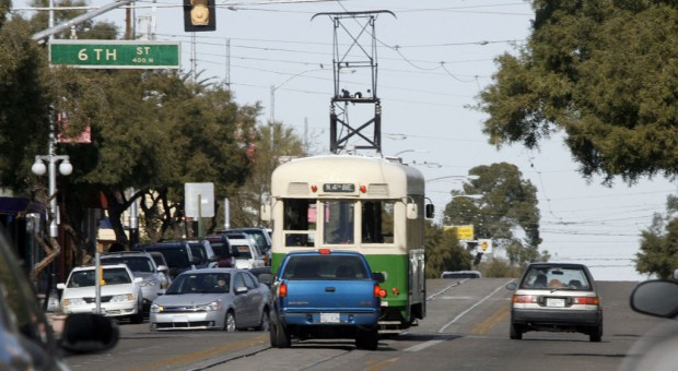 Streetcar tracks heighten accident concerns here